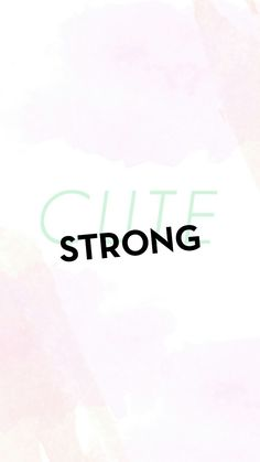 Cute strong ! ✏