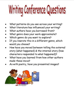 writing conference questions