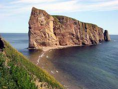 Rocher Percé en Gaspésie, Québec, Canada