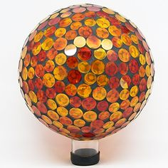 Alpine GRS118 Mosaic Gazing Ball, 10-Inch, Red/Yellow $44.17 w/ Amazon Prime