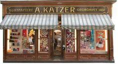 Papierhaus Katzer - exquisite & nostalgische Papierwaren / Wollzeile 5