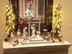 Willow Tree Nativity Setting