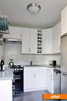 With the help of a great contractor and some classic IKEA cabinets, a budget kitchen renovation is completed in only 9 Days.