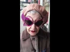 "Meet Rita, a fantastic 80-year-old lady who owns more than 70 pairs of over-the-top sunglasses that she's amassed with the help of her friends. She wears a different pair each day because she doesn't want to hurt anyone's feelings, not because she actually likes them. ""Oh God, no,"" she says. ""You think I'd be wearing these things of my own choice? No. But now they're my trademark and I feel lost without them."""