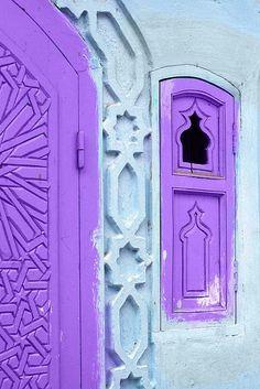 Purple architecture