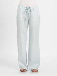 Joie - Maretta Linen Pants - Saks.com