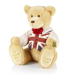 A patriotic little bear, John Henry Dickin is named after the former Harrods employee who represented Great Britain during the 1920 Olympic games.