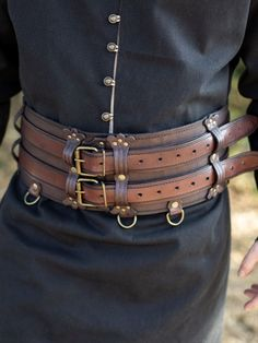 Steampunk Belt, Steampunk Fashion, Leather Armor, Leather Belts, War Belt, Battle Belt, Medieval Belt, Corset, Armadura Medieval