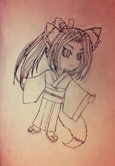 this is my chibi fox girl