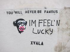 im-feeling-lucky-monkey-by-xvala-on-beverly-blvd-1.jpg 600×450 pixels