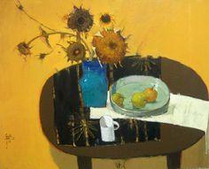 갤러리소헌 Art Projects, Projects To Try, Impressionism, Flower Art, Still Life, Flower Power, Art For Kids, Art Drawings, Objects