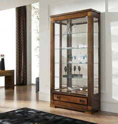 Cabinet Furniture, White Furniture, Furniture Design, Pantry Cabinet Home Depot, Almirah Designs, Crockery Cabinet, Bookcase With Glass Doors, Muebles Living, Dining Table Chairs