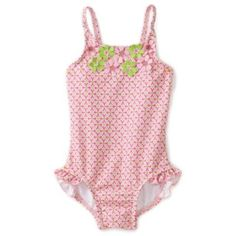 Hartstrings Baby-Girls Infant One Piece Floral Bathing Suit $34.00