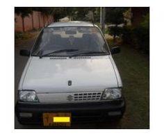 Suzuki Mehran Fully Maintained Scratch Less Body Model 1991 Sale In Karachi