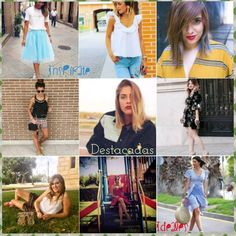 """Destacadas"" #grupoinstagram #bloggers #models #instagramers #kissmylook #tw feliz tarde kissess"