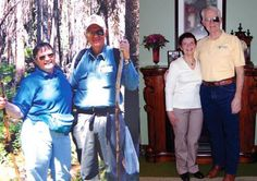 Ruth and Don each lost 70 lbs and have kept it off. Don now competes in triathlons!