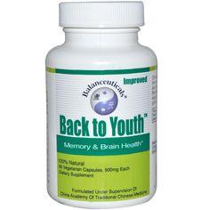 Balanceuticals, Back to Youth, Memory & Brain Health, 500 mg, 60 Veggie Caps - iHerb.com