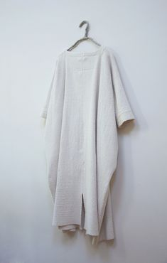 Dress, honeycomb weave with variations, raw silk . Vetements Clothing, Mode Boho, Minimal Fashion, Organic Cotton, What To Wear, Style Me, Personal Style, Ready To Wear, Women Wear