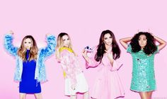 @Kate_Kou1 I love the crazy colours in this pic  @LittleMix  #LittleMixLooks
