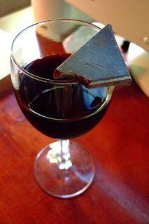 benefits of dark chocolate & red wine