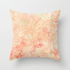 Cool Serenity 01 Throw Pillow by Correen Silke - $20.00