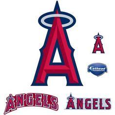 Fathead Los Angeles Angels Teammate Logo, Multicolor