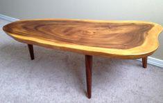 Log Slab Coffee Table