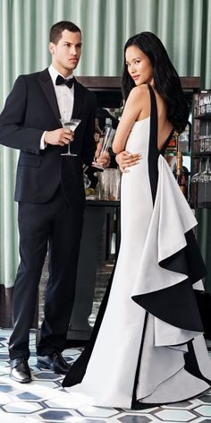 "The invite says ""black tie"", not ""boring"". Shop the exclusive Monique Lhuillier capsule collection at Rent the Runway."
