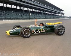 JIM CLARK 1965 INDIANAPOLIS 500 INDY WINNER FORD LOTUS 8x10 PHOTO