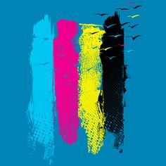 Escape in CMYK by HUMAN