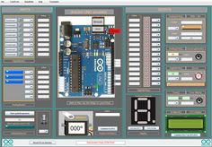 Made by myself! Arduino UNO simulator 1.3