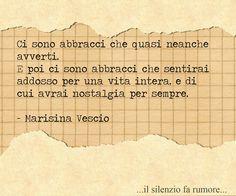 #pensieri #frasi #abbracci #persempre