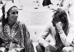 photo candid Elizabeth Taylor Richard Burton 1149-03