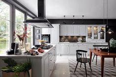 Black Red White - Senso Kitchens - kuchnia Kasetta   #brw #blackredwhite #kitchen #kitcheninspiration #kitchendesign #inspiration #home #homedecor #cooking #trend #white #classic #interior #interiordesign #furniture