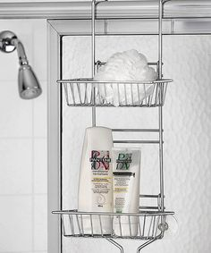Look at this Deluxe Adjustable Shower Caddy on #zulily today!