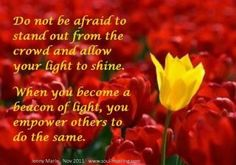 ~Allow your light to shine~