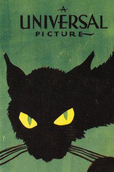 Poster art 'The Black Cat' (1934)