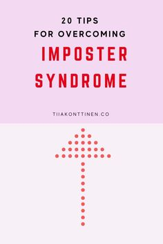 20 TIPS FOR OVERCOMING IMPOSTER SYNDROME I Tiia Konttinen #impostersyndrome #tiiakonttinen #blogging #bloggingandentrepreneurship #entrepreneurship Blog Writing Tips, Writing Topics, Writing Prompts, Writing Challenge, Blog Topics, Blogging For Beginners, Make Money Blogging, How To Start A Blog, Entrepreneurship