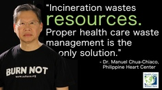 As much as 80% of the waste produced by healthcare facilities n't  are not  hazardous.  As long as the waste isn't mixed with infectious  or contaminated waste, much of it can be reused and recycled Recycling plastics, papers, and bottles can even produce income.
