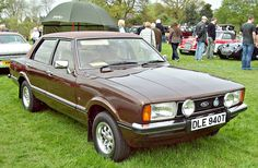 1979 Ford Cortina MKIV 2.3 Ghia with 2.3L V6 Cologne OHV Engine (Photo by Robert Knight)