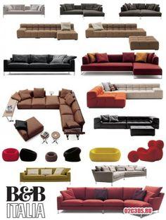 3D модели. Мебель B&B » o2c3ds.ru — в помощь дизайнеру и архитектору