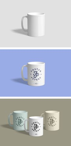 Realistic PSD Mug Mockup that will allow you to present a logo or typography in a natural way. Drag and drop your design inside mug mockup smart object.