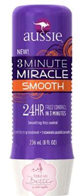 3 Minute Miracle Smooth! Para que serve aqui http://makemebetter.com.br/os-diferentes-tipos-do-3-minute-miracle-da-aussie/