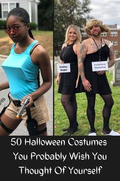 The holiday season is upon us: we'll soon be feasting upon pumpkins, followed by turkeys (plump and with tiny pilgrim hats), and, well, more turkeys (plumper and with tiny Santa hats). #50 #Halloween #Costumes List Of Halloween Costumes, Scary Costumes, Jawa Costume, Peanut Costume, Back Tatto, Best Costume Ever, Cute Almond Nails, Robin Cosplay, Rock Nails