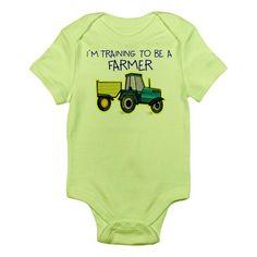 CafePress I'm Training To Be A Farmer Infant Bodysuit - 0-3M Kiwi CafePress http://smile.amazon.com/dp/B00MFKO3I8/ref=cm_sw_r_pi_dp_NYWfub09B7SQV
