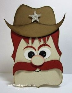 Sheriff by Rae Harper #scrapbooking #papercrafts