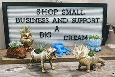 www.flymeawaycreations.com Dream Big, Succulents, 3d Printing, Shopping, Ideas, Impression 3d, Succulent Plants, Thoughts