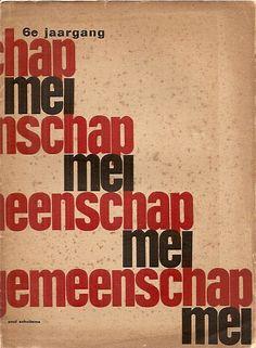 Paul Schuitema - Cover, 1930