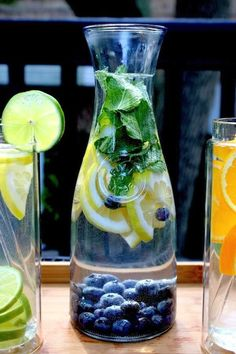 Help your metabolism, weight loss and skin with daily #water intake: #flavored water #recipe