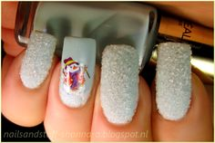 Nails and Stuff: Extra challenge: Christmas Caviar Nail art Sand Nails, Caviar Nails, Nailart, Xmas Nails, Christmas Nail Art, Winter Holidays, Pedicure, You Nailed It, Nail Designs